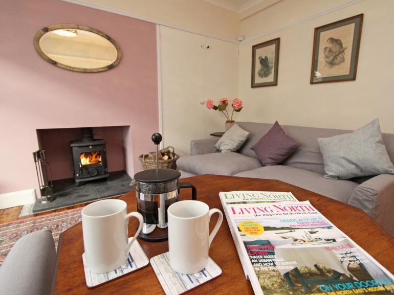 Relax, unwind and get cosey in front of the fire