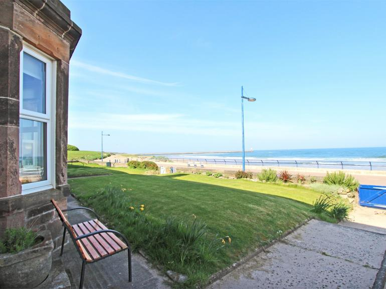 Fabulous views from this seaside property