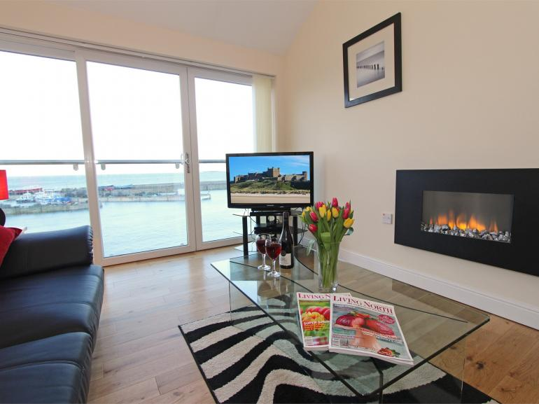 Fantastic sea views from this well presented maisonette