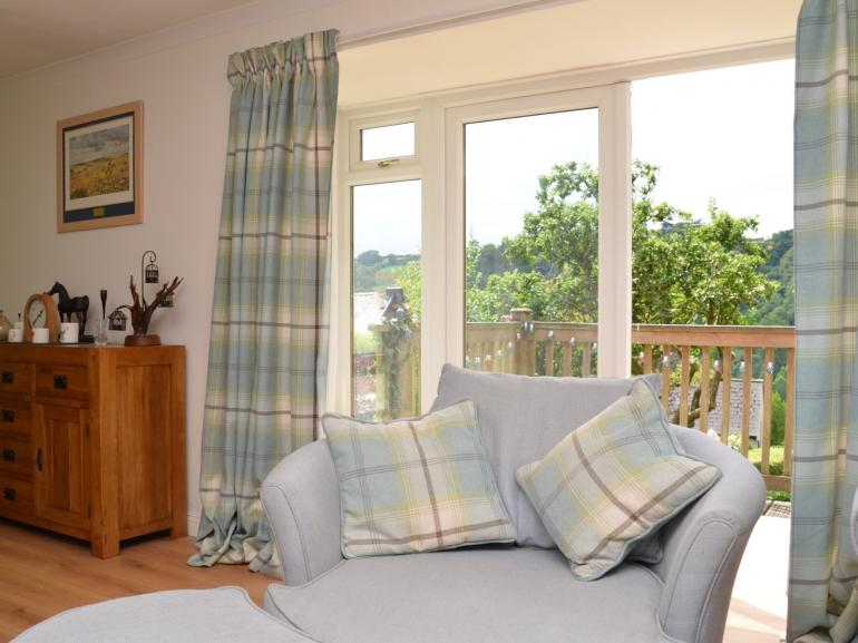 Relax and enjoy the views from the property and garden