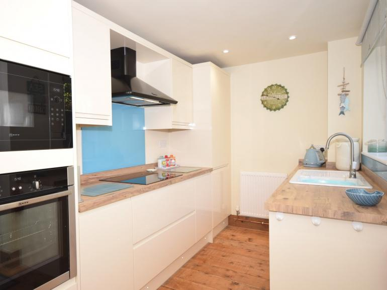 Stylish and well equipped kitchen