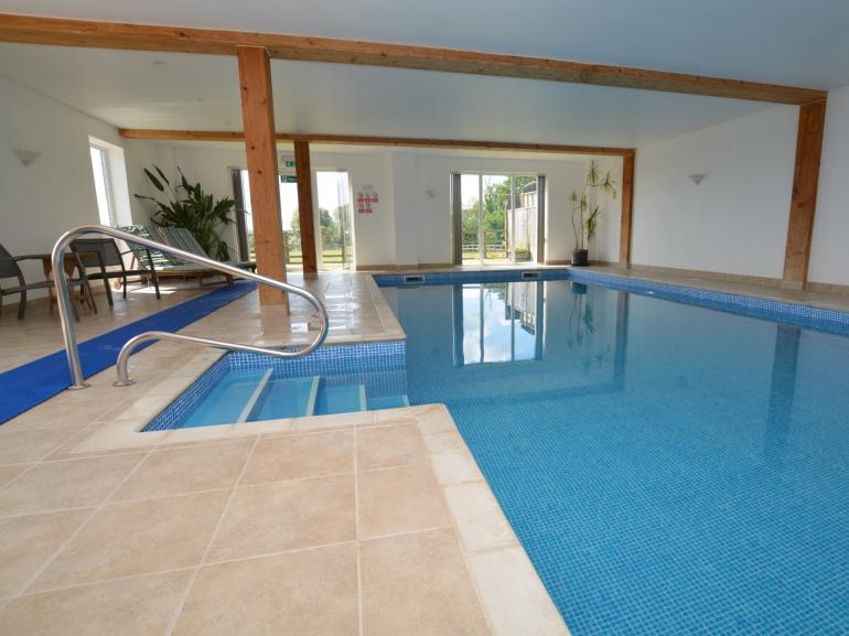 Shared indoor heated pool