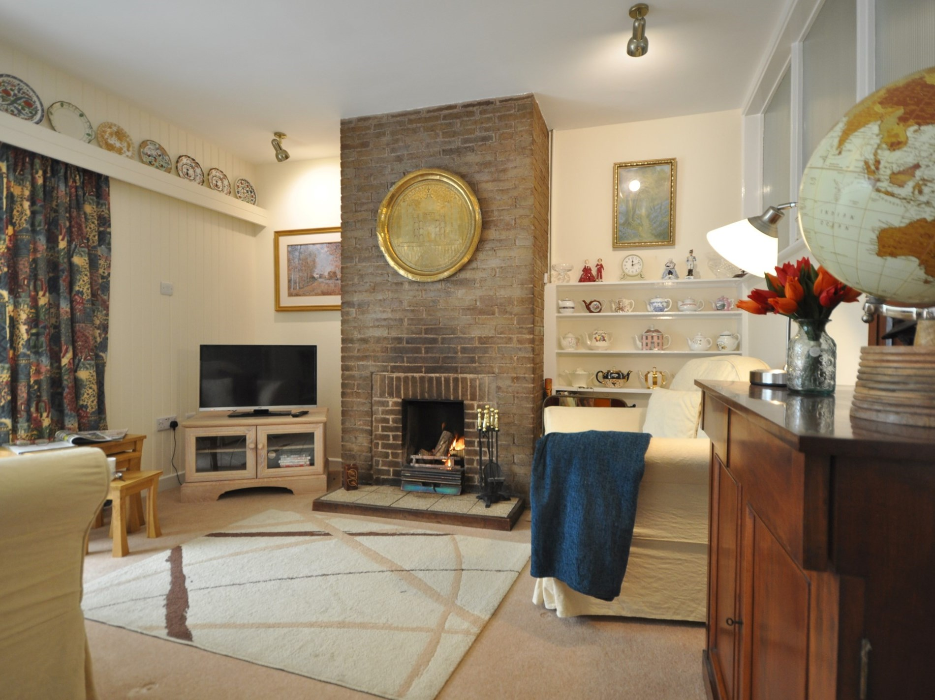 A cosy space to relax in with friends or family