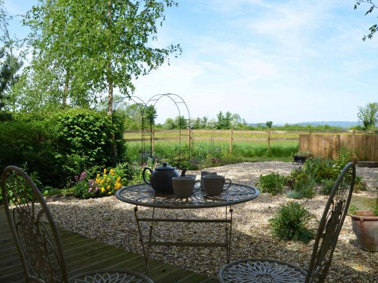 Enjoy a cup of tea and soak up the views of the Mendips