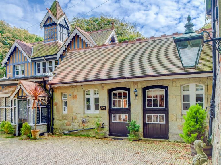 The front of this sympathetic stable conversion