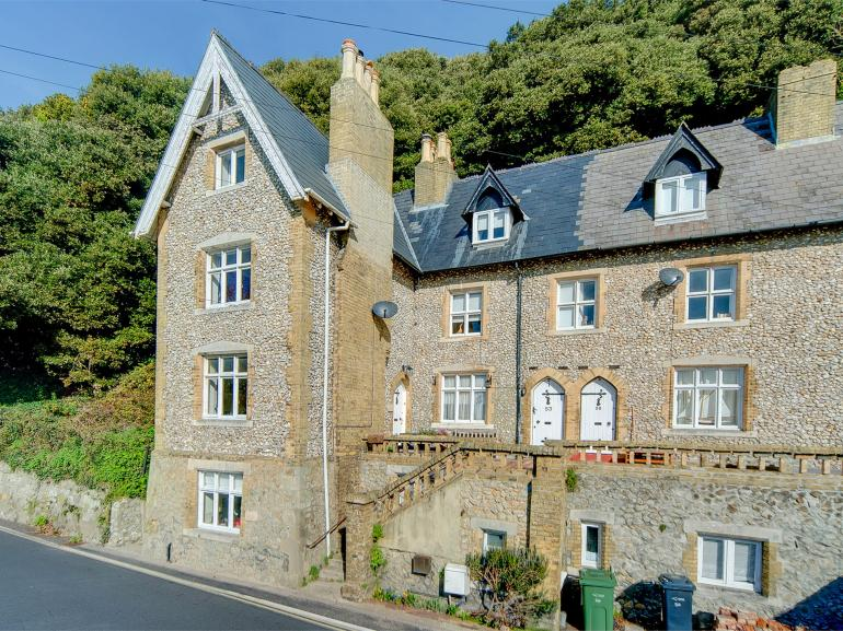 A four storey property in the heart of Ventnor