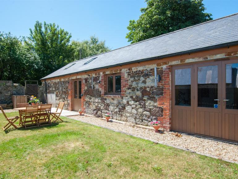 A spacious barn conversion with rural walks from the doorstep