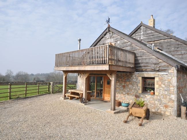 View of the property with fantastic countryside views