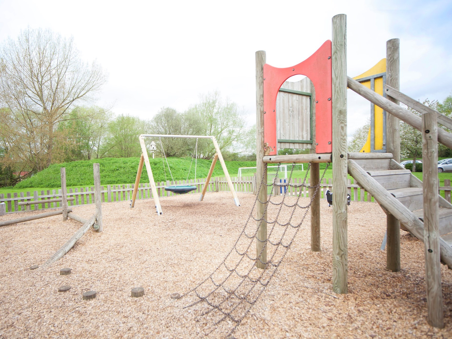 Childrens outdoor play areas