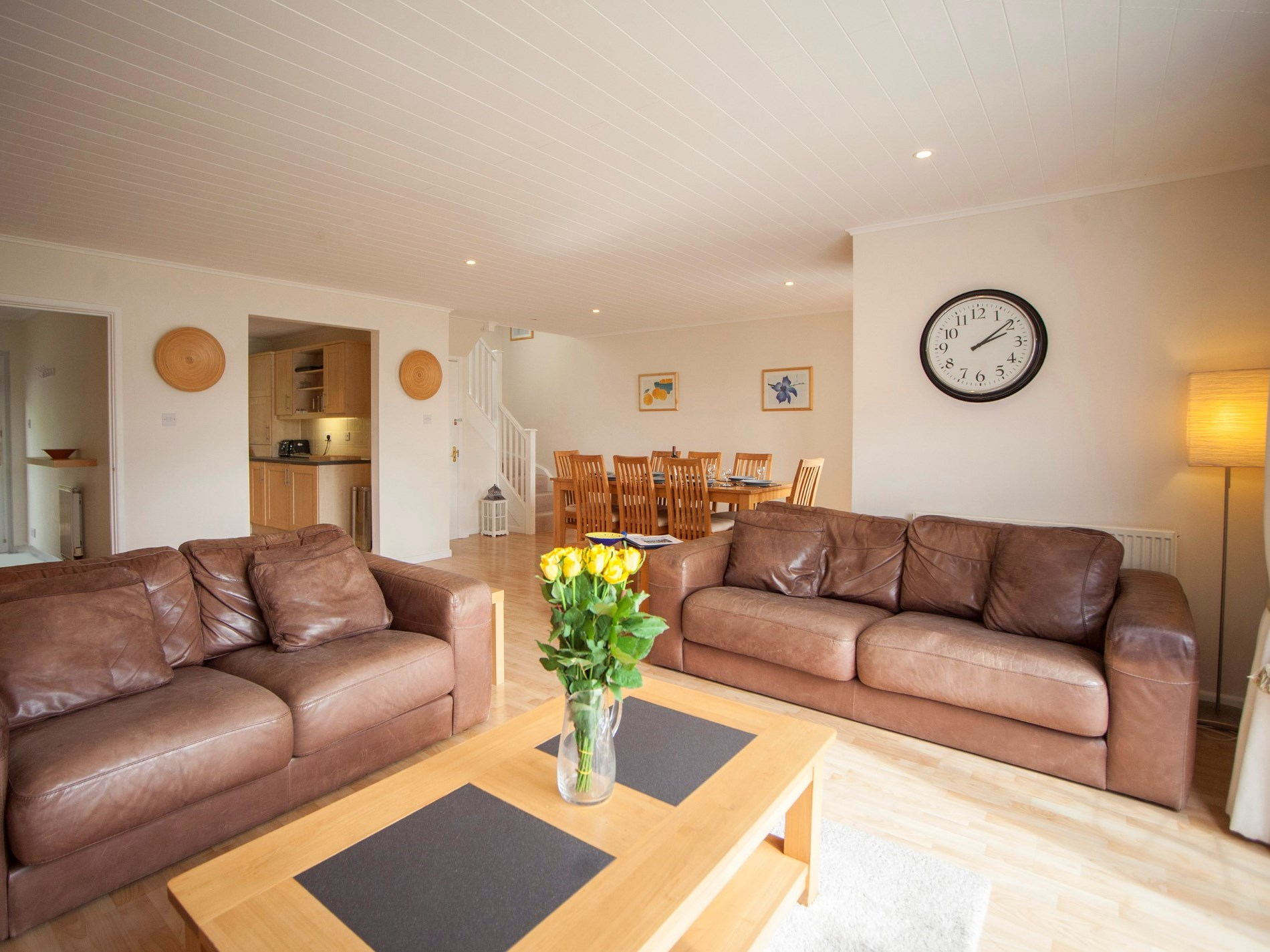 Spacious and open plan living areas for a perfect get together