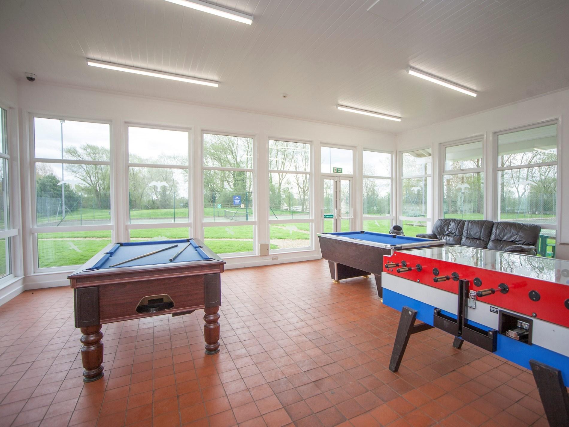 Indoor play facilities