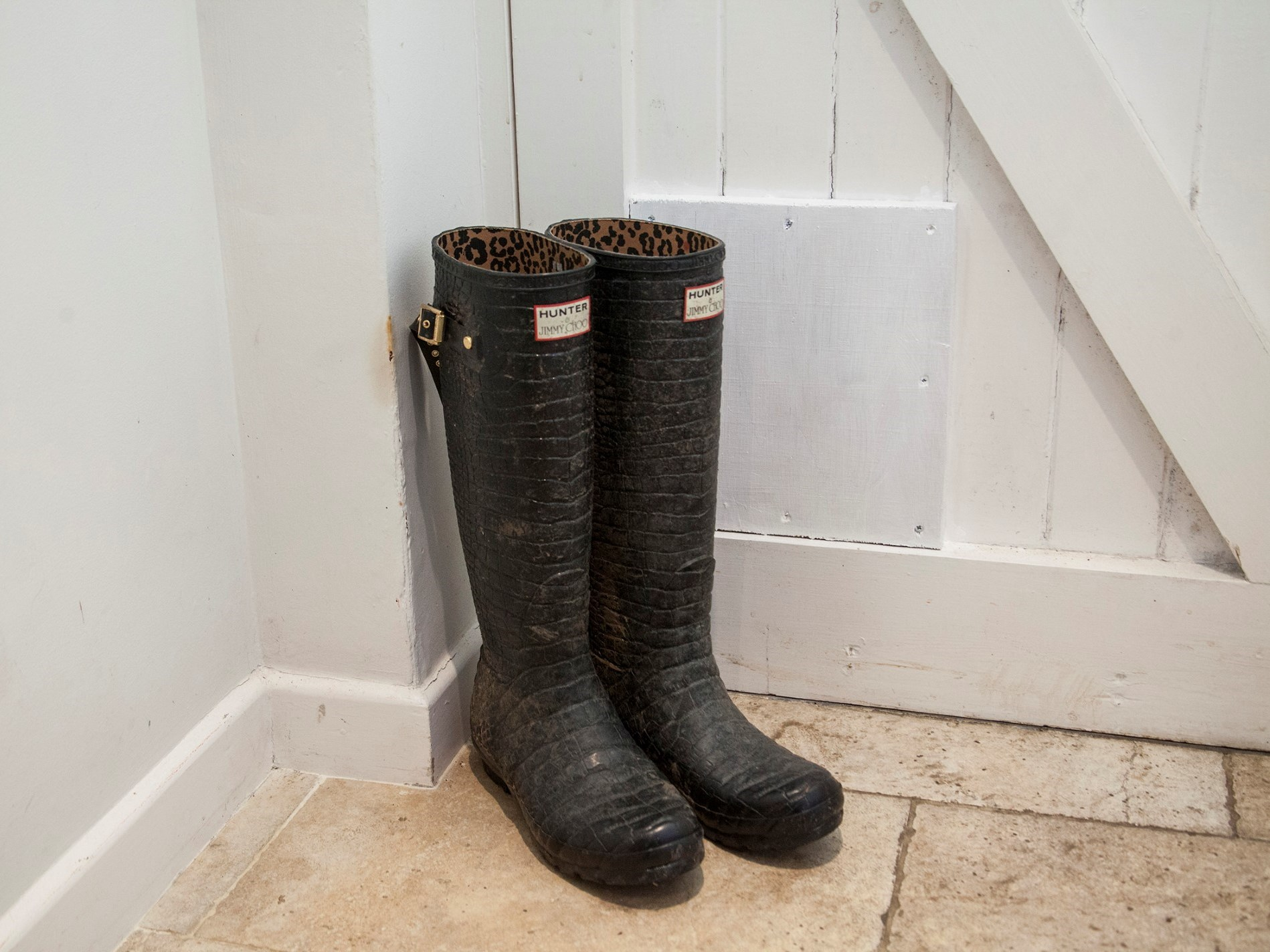 Dont forget your wellies