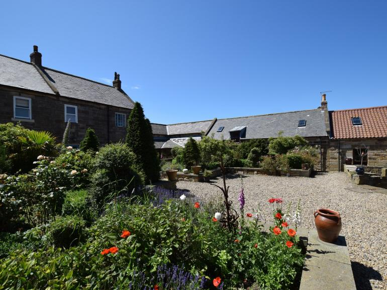 Lovely courtyard area at the front of the property
