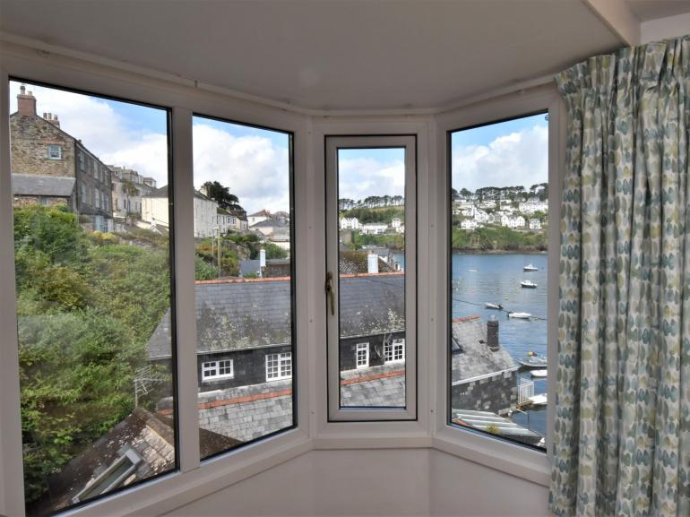 Enjoy the ever changing views from the master bedroom