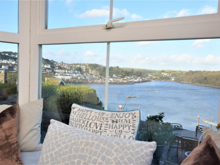 Stunning waterside views from the house