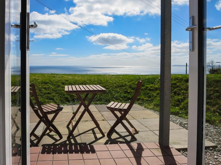 Savour the wonderful sea views whilst enjoying your morning coffee