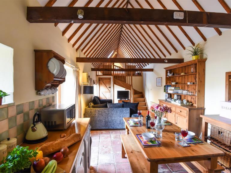 Lovely open-plan lounge/kitchen/diner