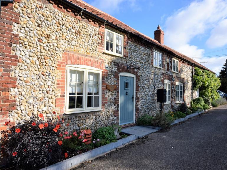 Traditional Norfolk cottage