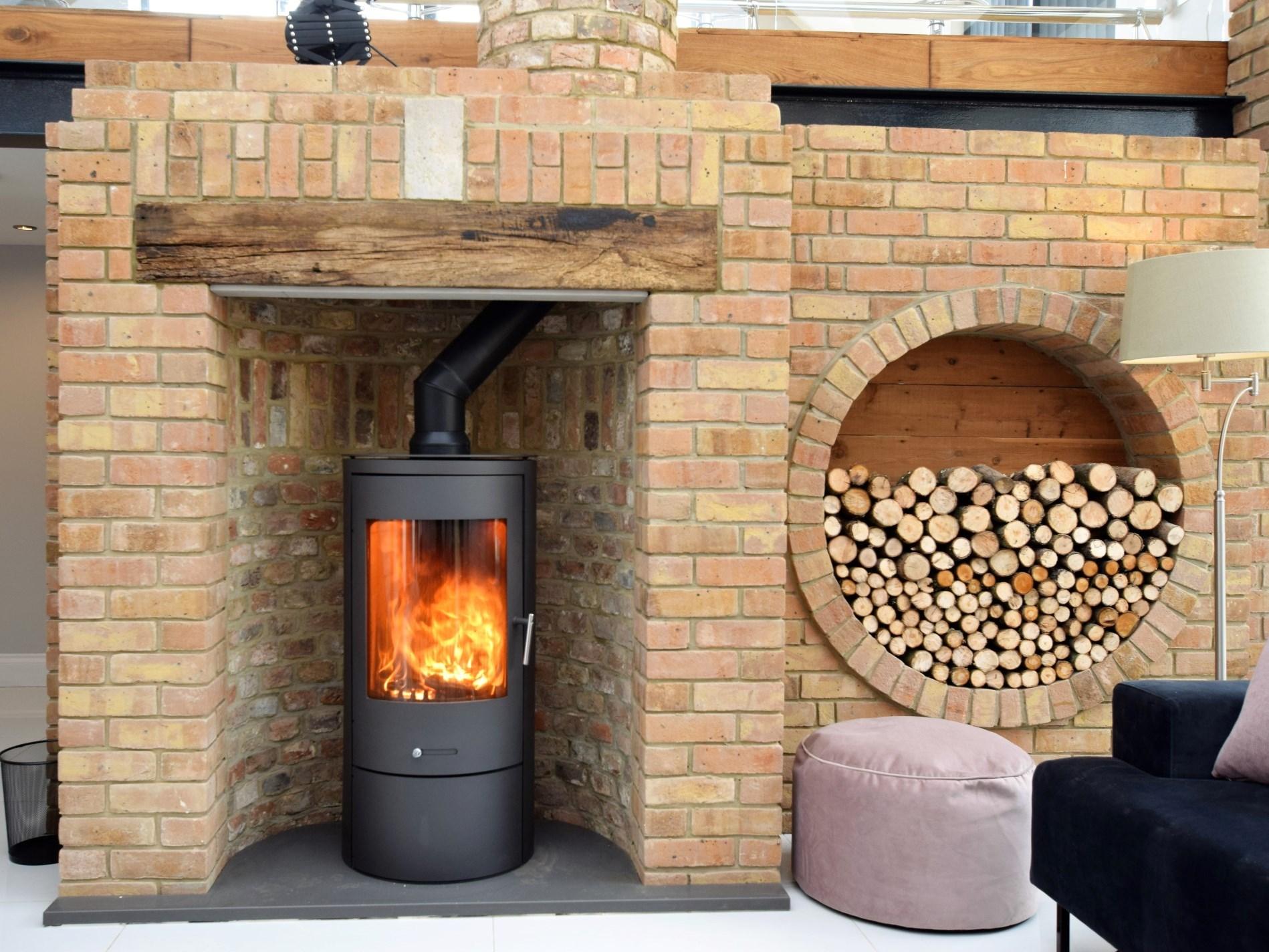 Beautiful fire place