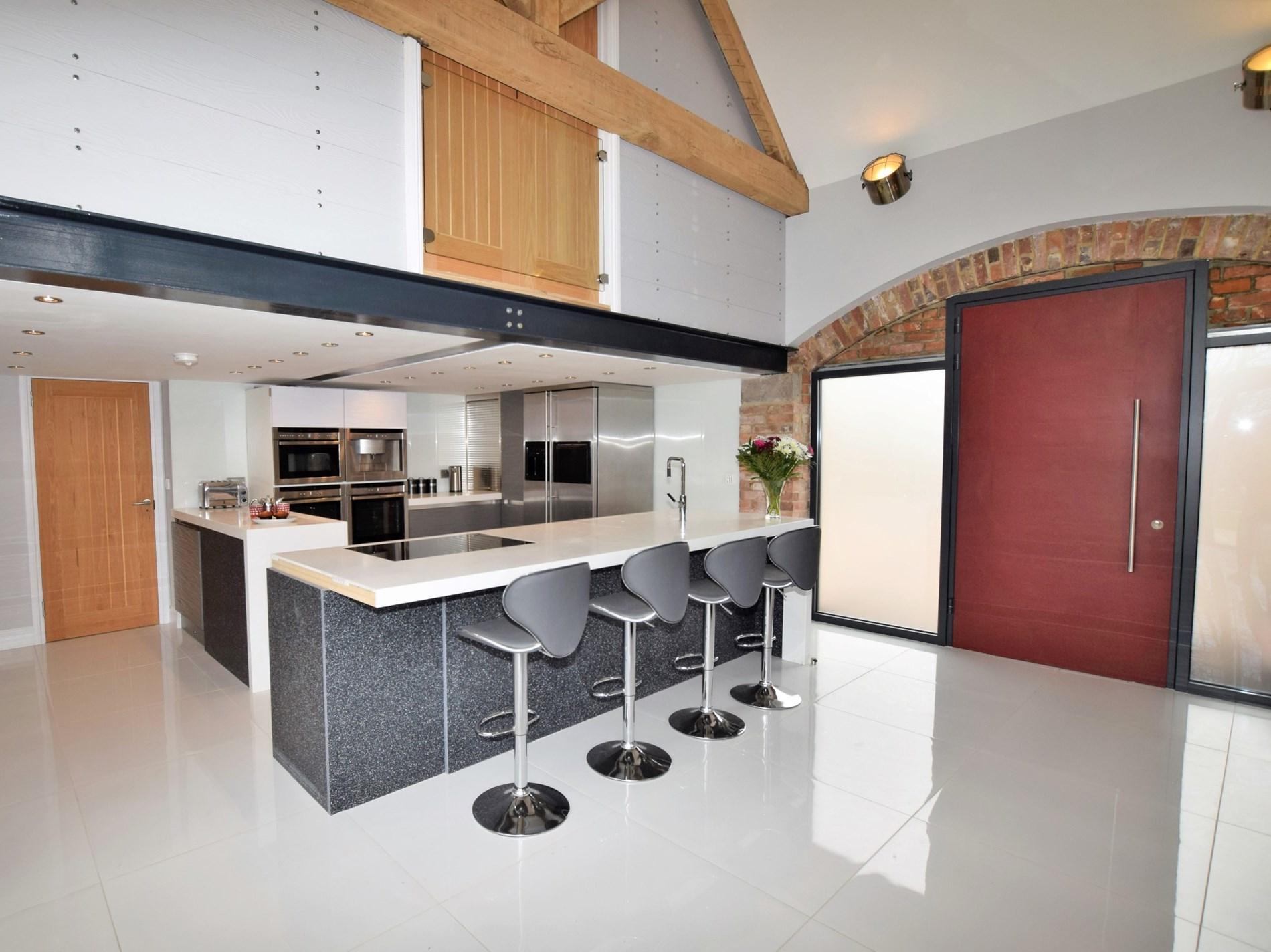 Stylish kitchen area