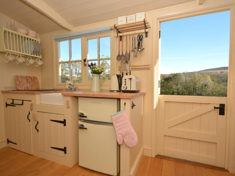 Delightful kitchen with views to match
