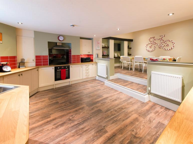 Open plan design with plenty of space