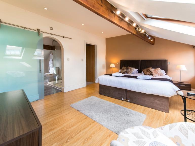 Super king sized bedroom