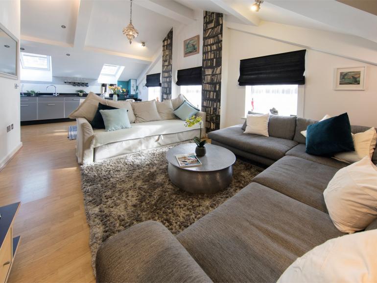 Fabulous open plan living area