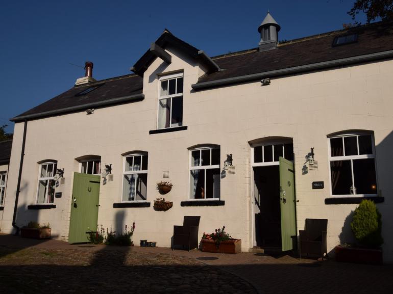 Grade II listed former stable lovingly modernised