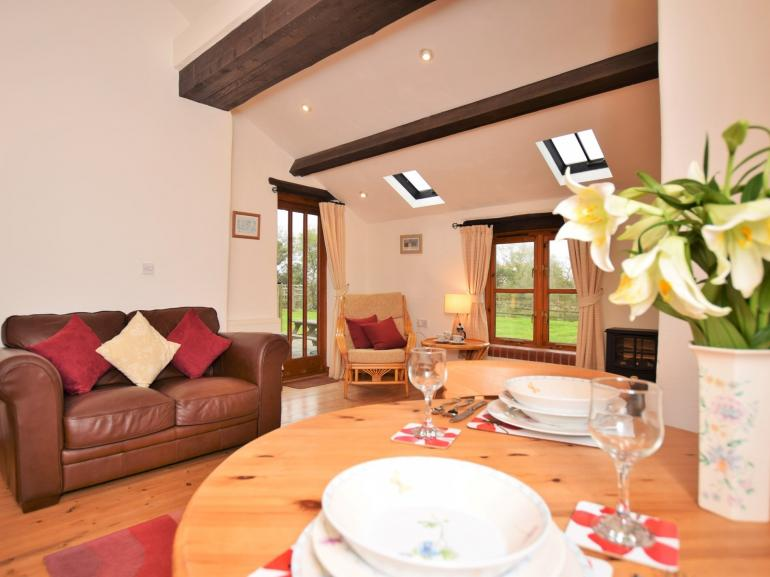 Spacious open plan living/dining room