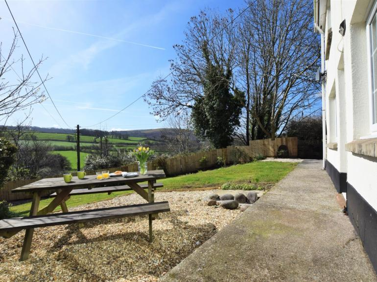 Step outside the back door and enjoy stunning countryside views