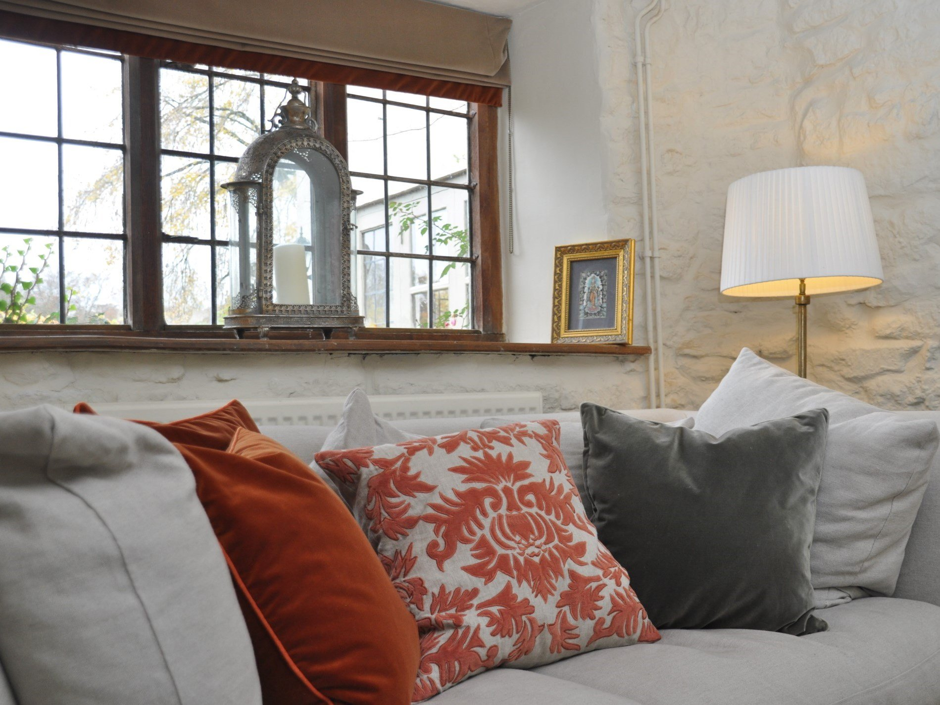 Curl up with a good book in the snug