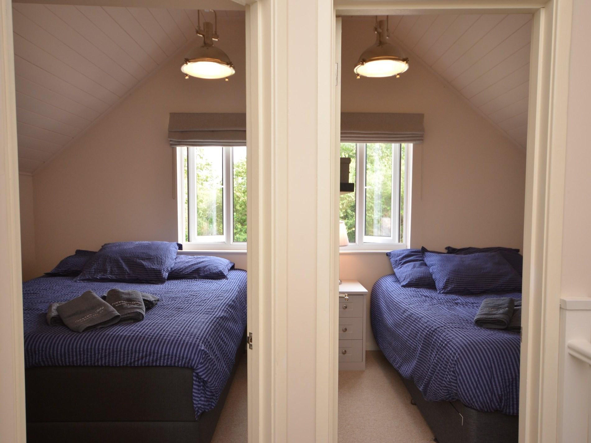 2 comfortable double bedrooms