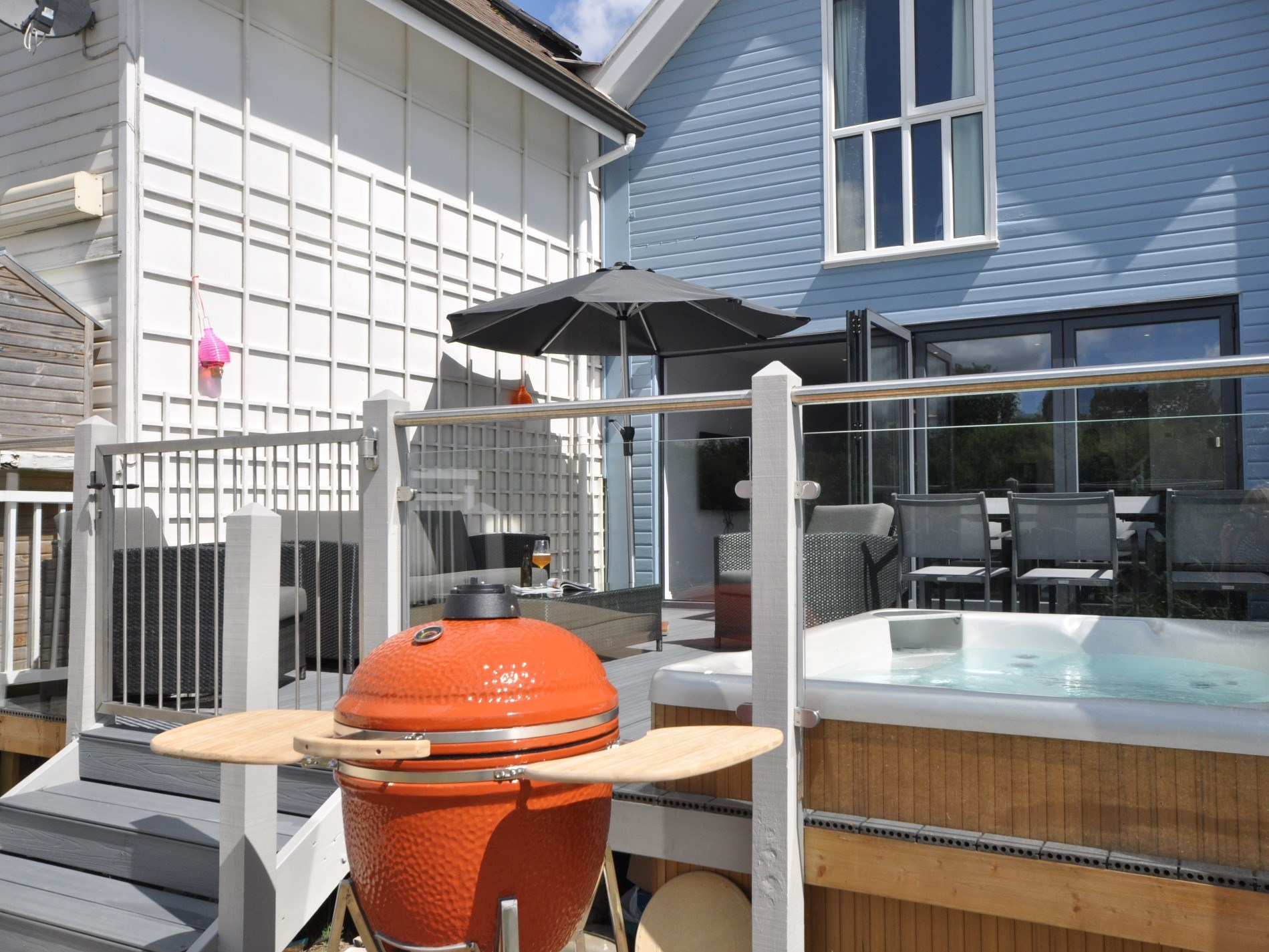 Make use of the BBQ for summer dining