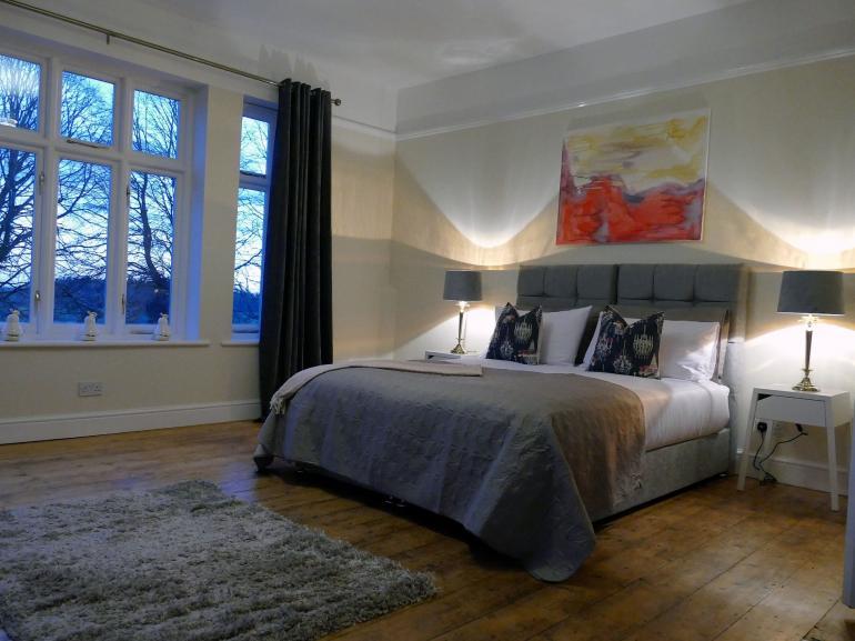 Spacious, modern bedrooms await