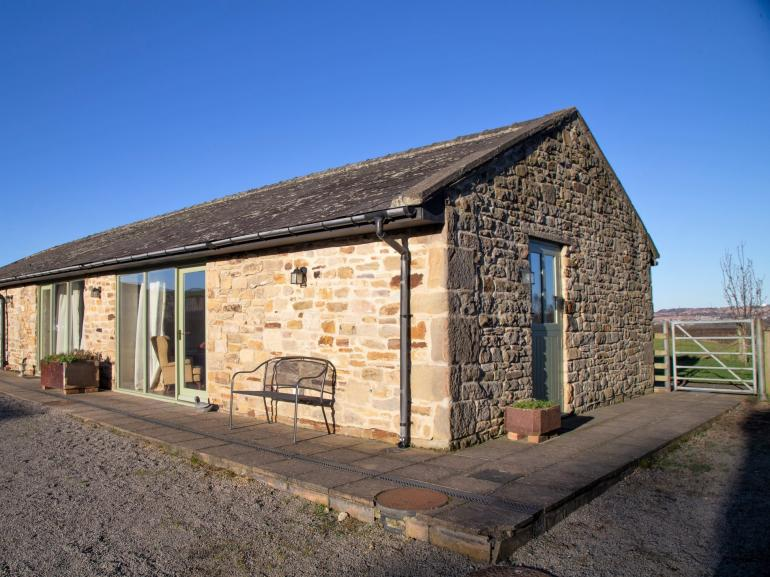 Attractive stone barn