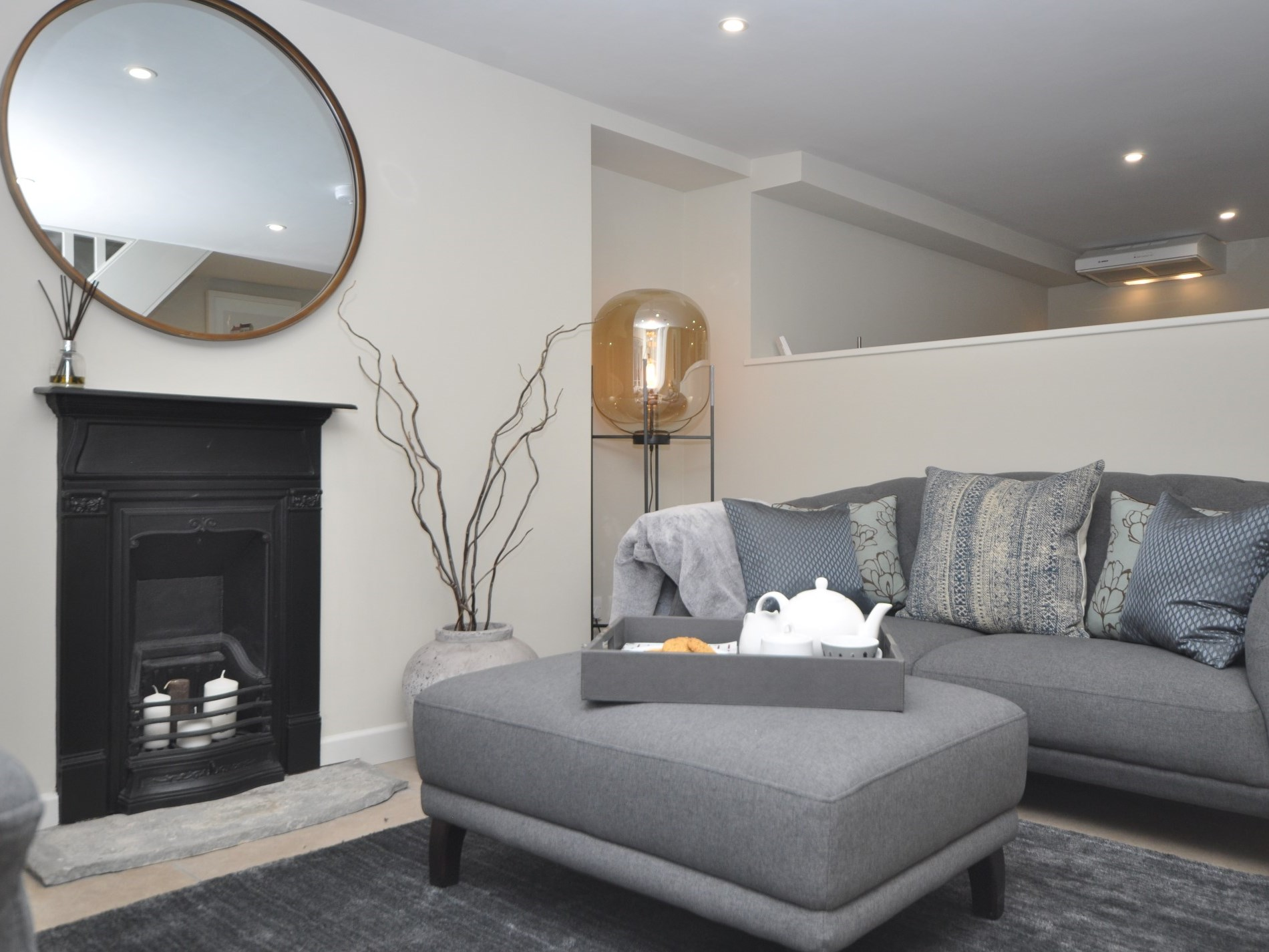 Grade II listed with feature fire place