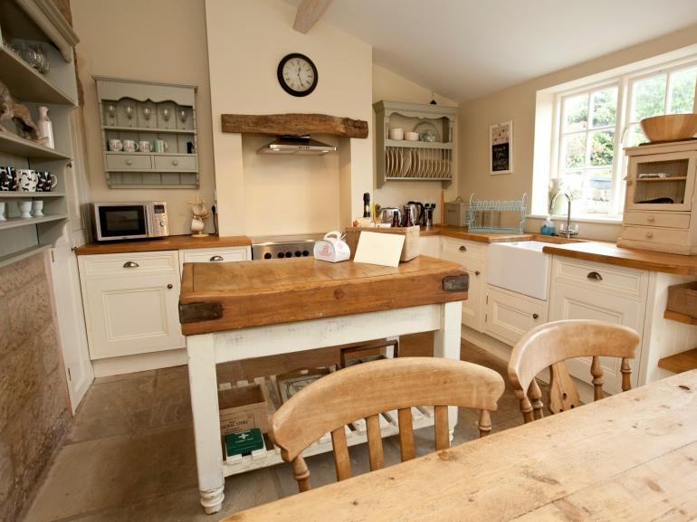Egton's country kitchen