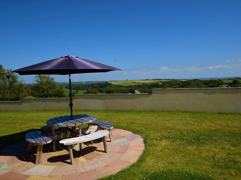 Fabulous far reaching views from the rear of the property