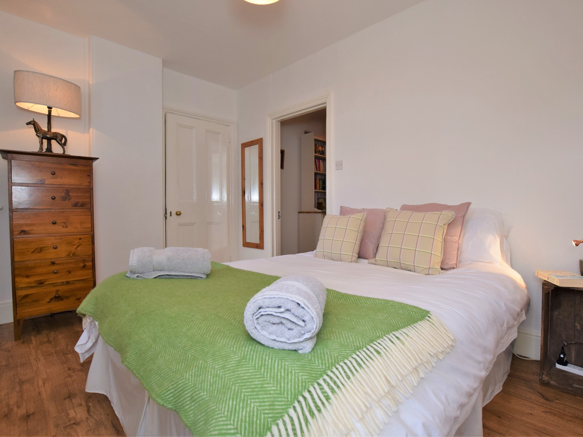 Beautifully presented downstairs double bedroom