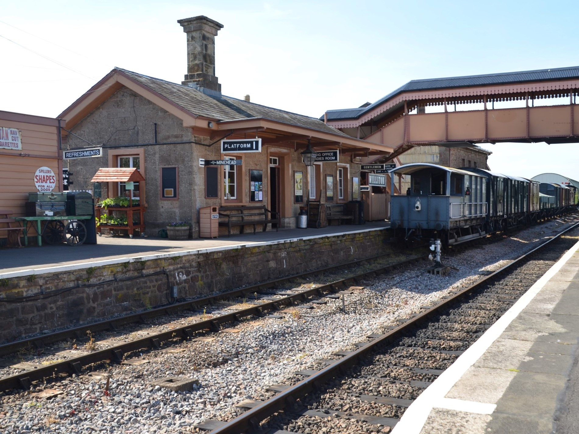 The West Somerset Railway is conveniently located behind the main farmhouse