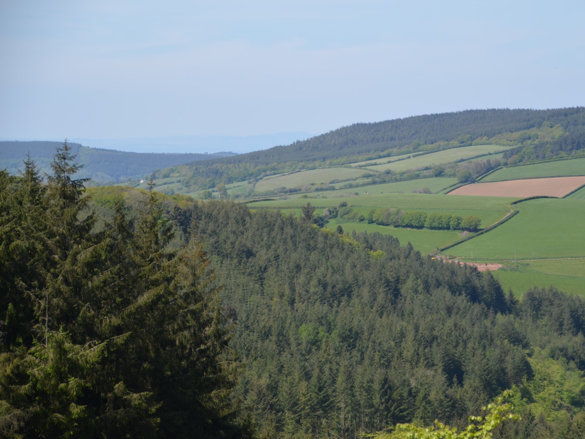 A short drive away is Exmoor National Park