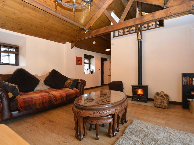 Spacious yet warming open-plan lounge/kitchen/diner