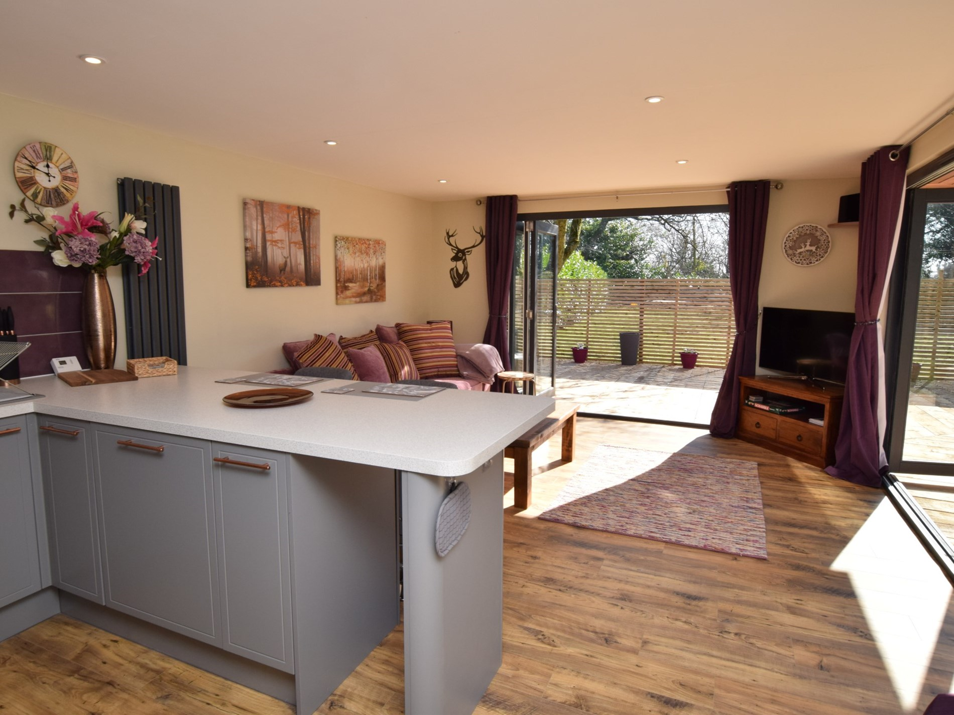 Step into this inviting open plan space