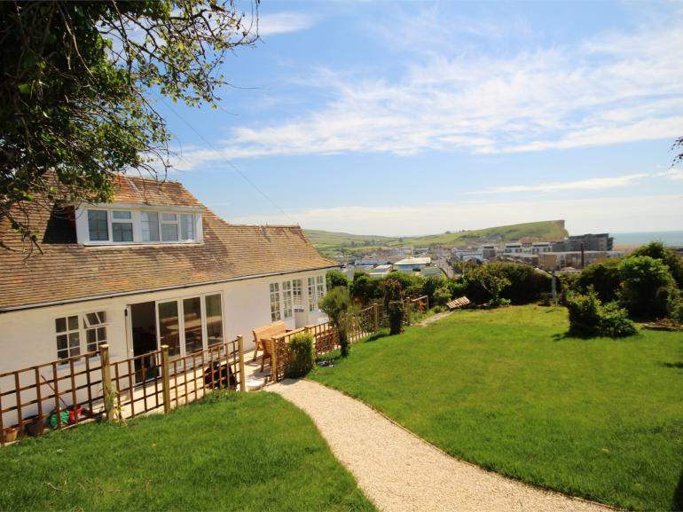 Enjoy far reaching views towards the sea from the property