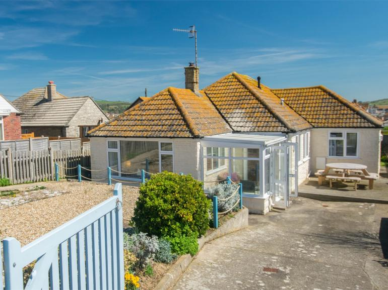 Looking towards this delightful detached property
