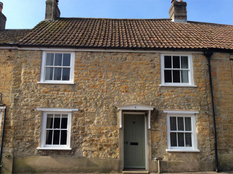 Looking towards the front of this charming Grade II listed cottage