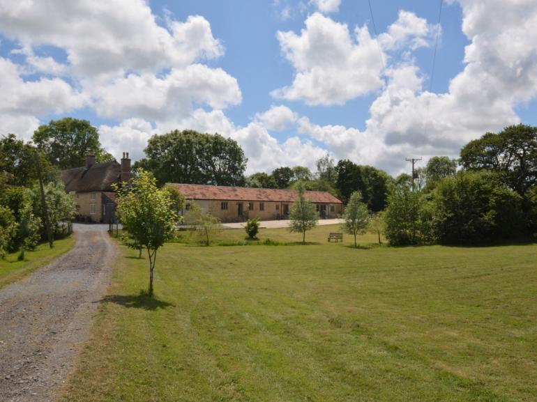 Charming rural cottages approached via a long gravel drive