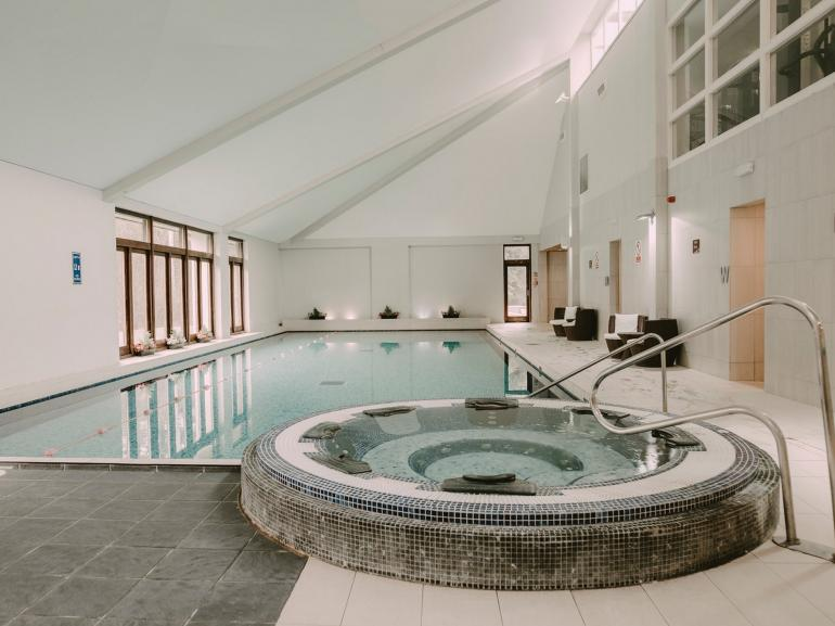 Fabulous spa facilities available to the detached residence