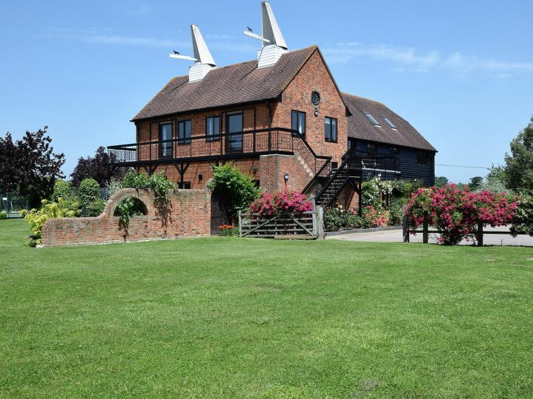 A pretty converted Kent Oast House